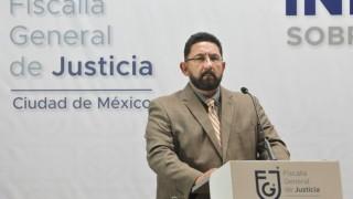 Mensaje a medios ofrecido por el coordinador de asesores y vocero de la Fiscalía General de Justicia de la Ciudad de México, Ulises Lara López